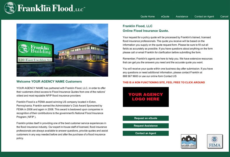 Flood Insurance Quote | Flood Insurance Services For Agents Franklin Flood For Agents